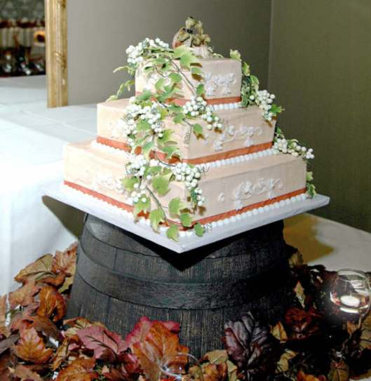 Lori & Doug's Wedding Cake
