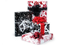 Brocade giftwrap