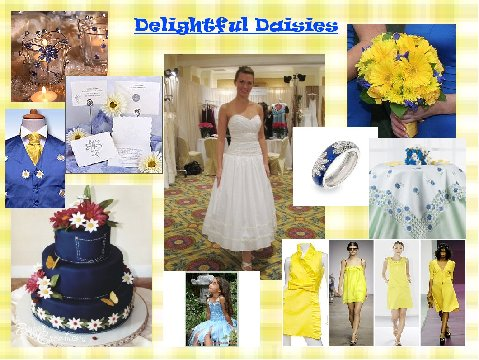 Delightful Daisies Inspiration Board
