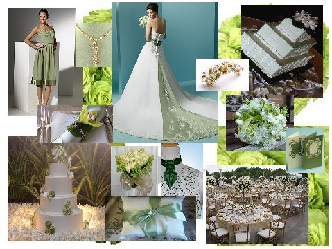 Spring Green Inspiration Board