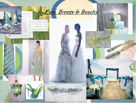Easy, Breezy & Beachy Inspiration Board