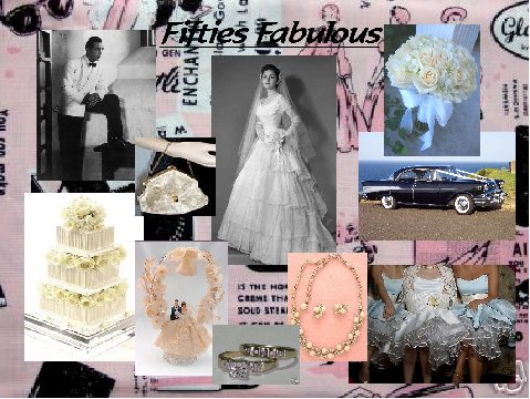 Fifties Fabulous Inspiration Board
