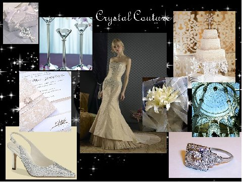 Crystal Couture - An Inspiration Board