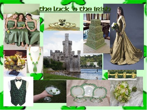 The Luck O' the Irish - An Inspiration Board