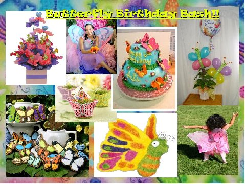 Butterfly Birthday Bash - An Inspiration Board