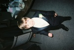 The adorable little ringbearer!