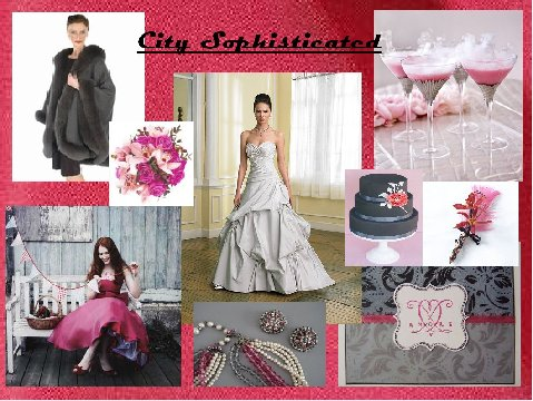 City Sophisticated Inspiration Board