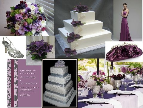 Purple Haze Inspiration Board